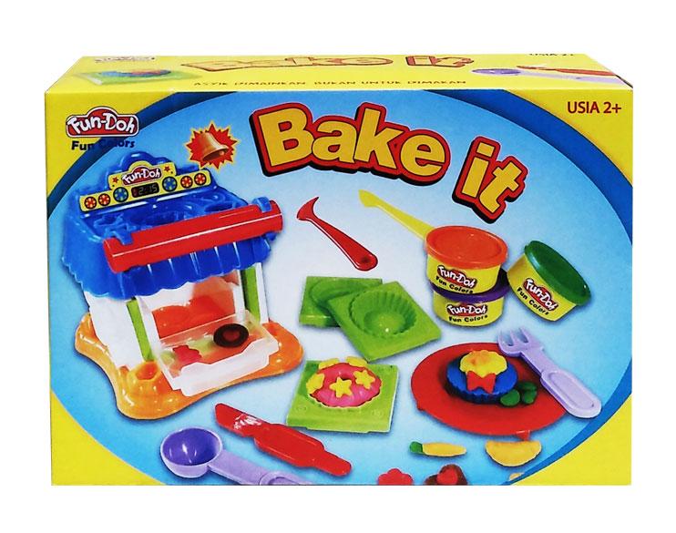 toko mainan online DOUGH BAKE IT - 28097