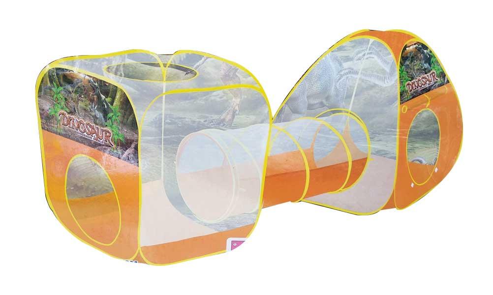 toko mainan online TENDA TEROWONGAN DINOSAUR WORLD - 345A-18