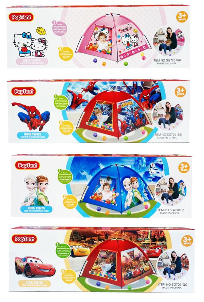 toko mainan online TENDA PLAY TENT KARAKTER