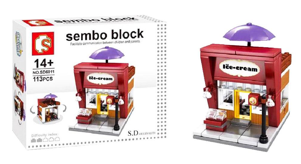 toko mainan online SEMBO ICE CREAM 113PC - SD6011
