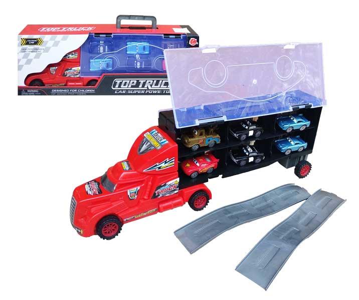 toko mainan online TOP TRUCK + 12PC CAR - AG200