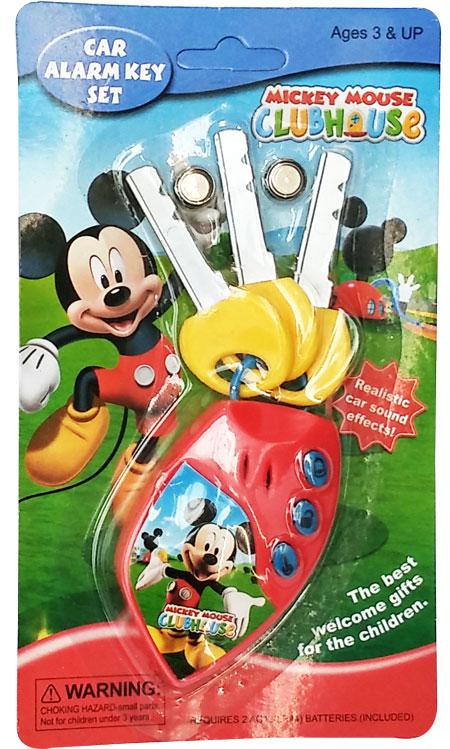 toko mainan online MICKEY CAR ALARM KEY SET - 02070