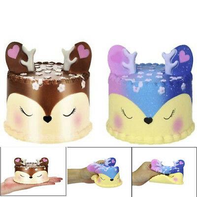 toko mainan online SQUISHY DEER CAKE - SQ99