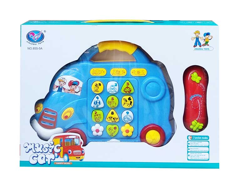 toko mainan online HAPPY MUSIC CAR - NB-03678/855-5A