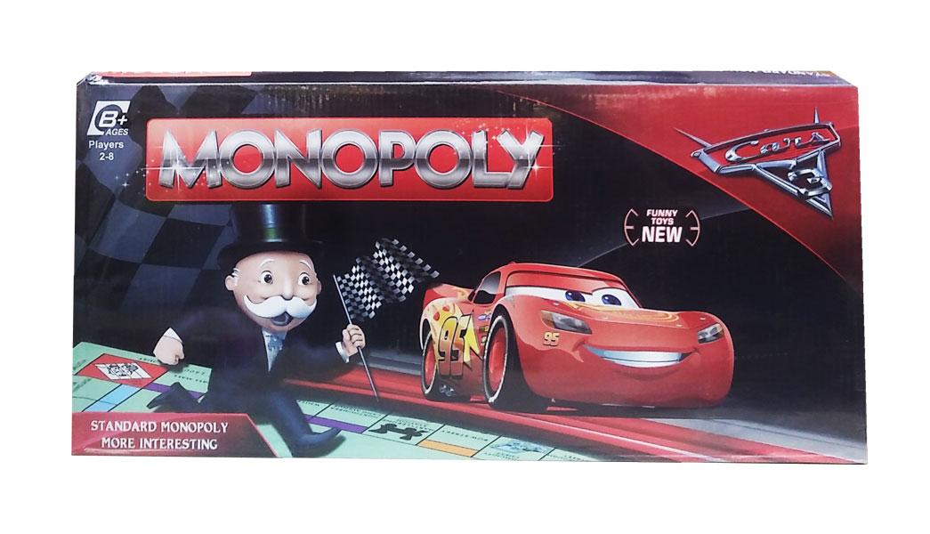 toko mainan online MONOPOLY CARS-477Q-1