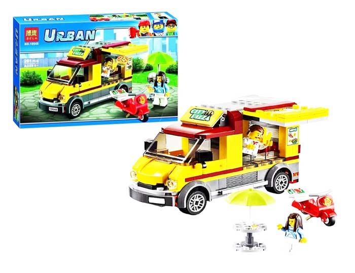 toko mainan online BLOCK URBAN CITY 261PCS - 10648