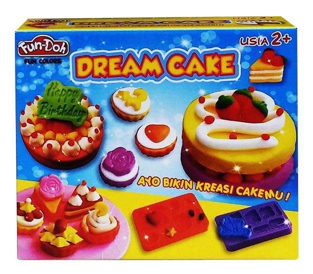 toko mainan online DOUGH DREAM CAKE - 28022