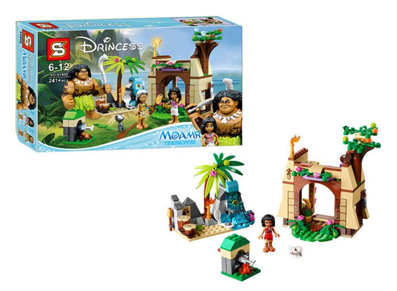 toko mainan online BLOCKS MOANA 241PC - SY855
