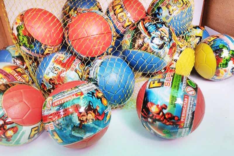 toko mainan online BOLA KEJUTAN - LC214