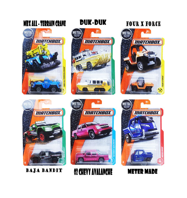 toko mainan online MATCHBOX COLLECTION SERI J (gr12)