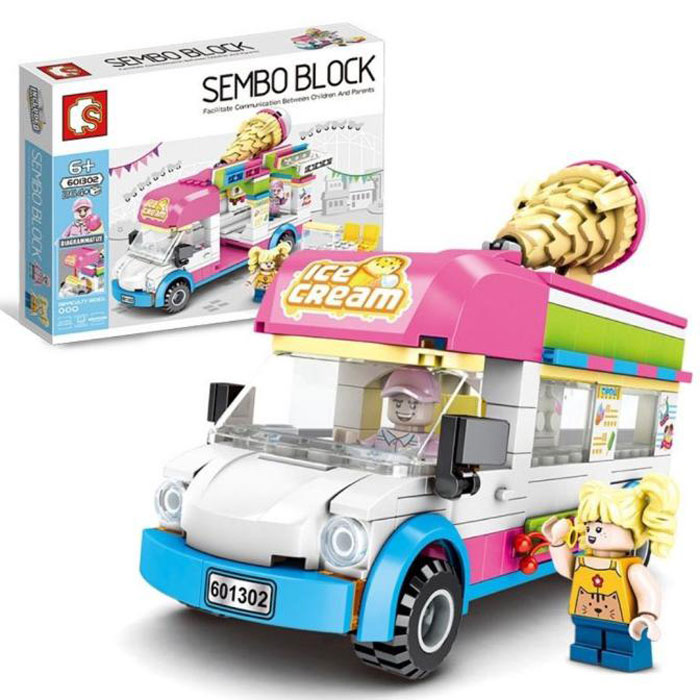 toko mainan online SEMBO ICE CREAM 264PCS - 601302