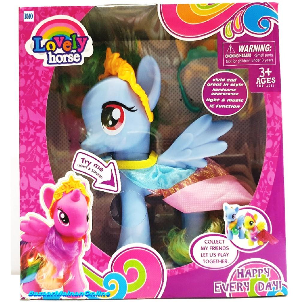 toko mainan online LOVELY HORSE - 63832