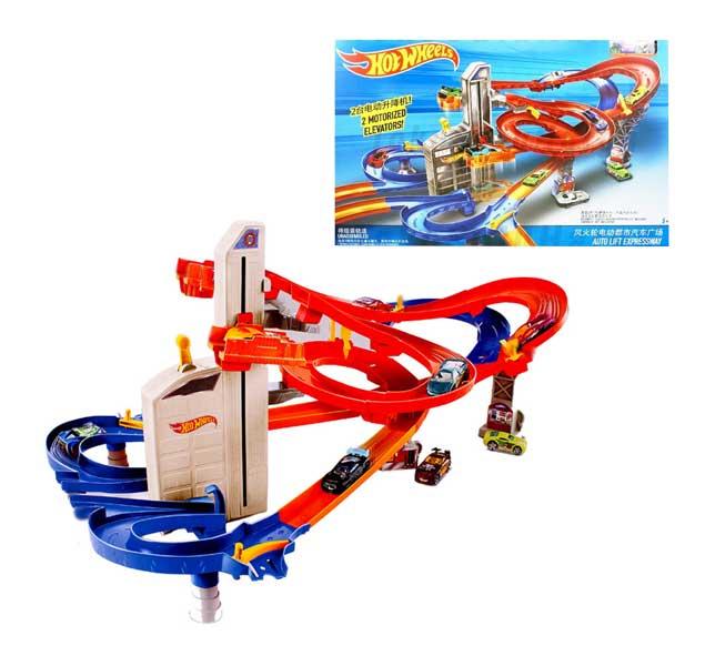 toko mainan online HOT WHEELS AUTO LIFT EXPRESSWAY - CDR08