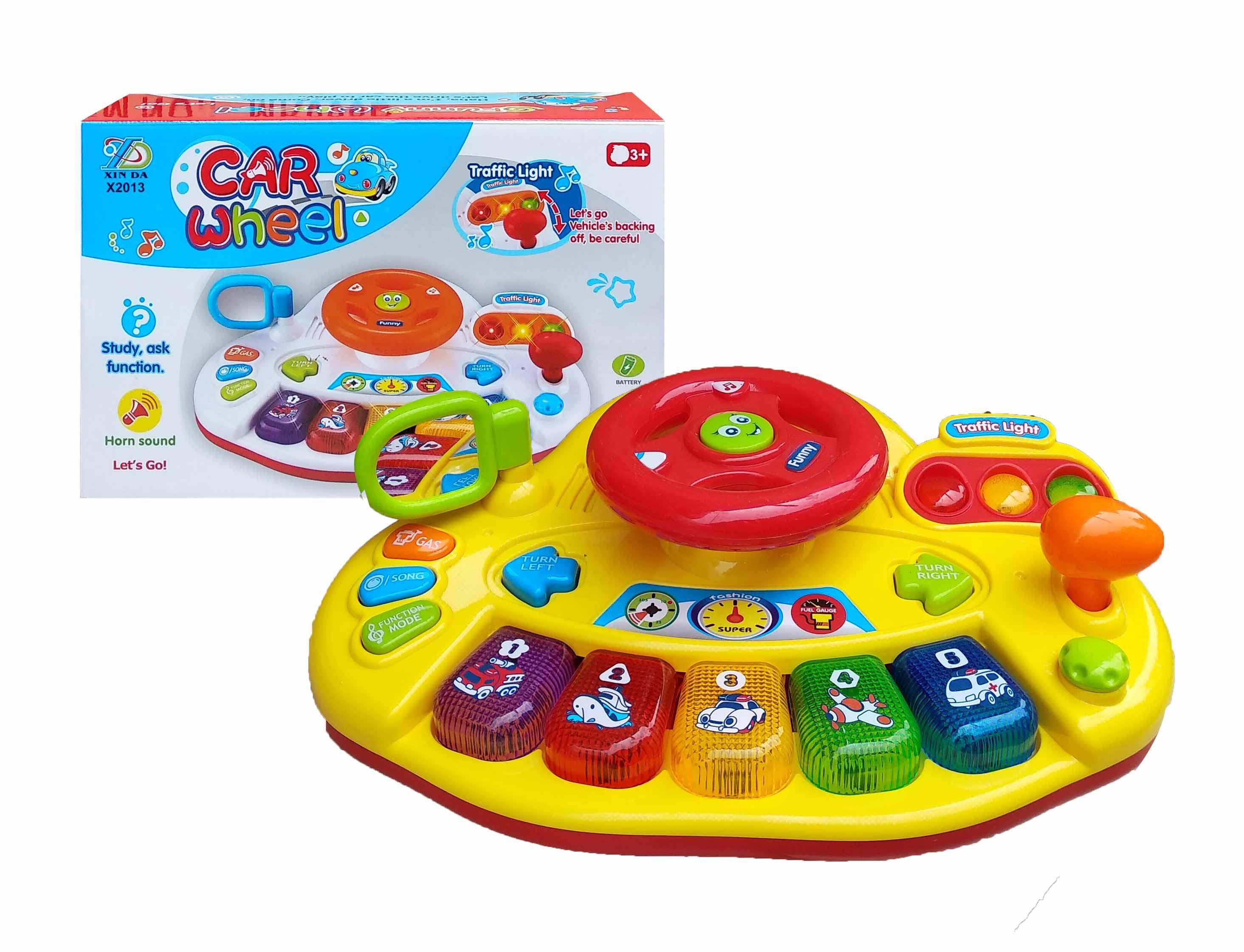 toko mainan online CAR WHEEL ELECTRONIC - X2013