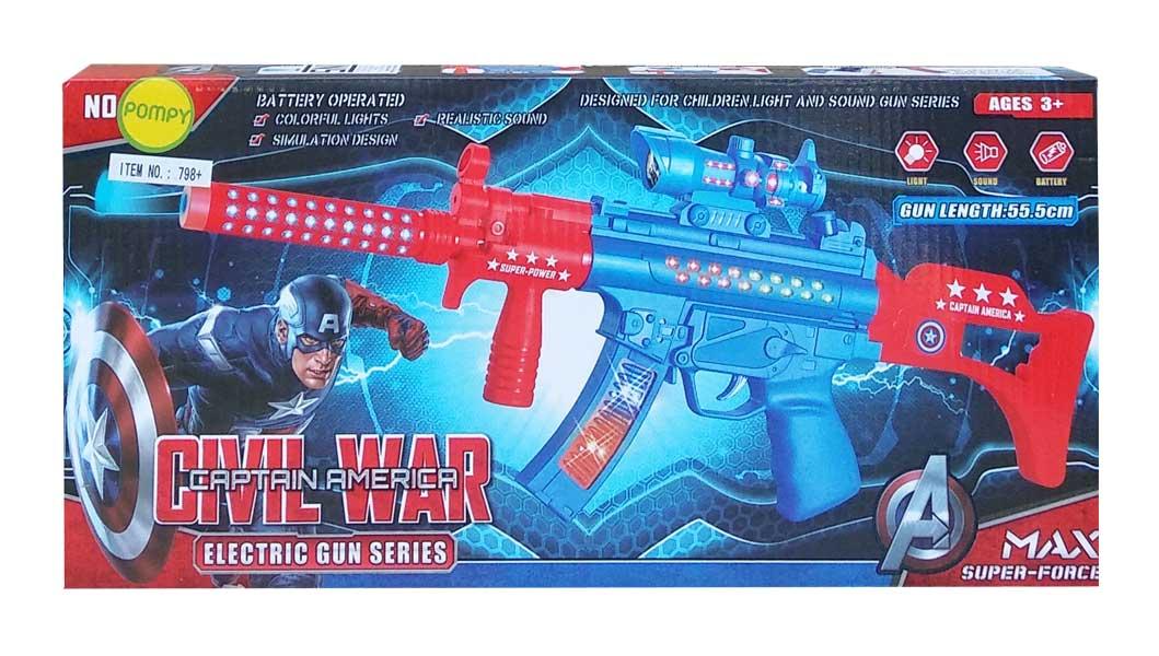 toko mainan online CIVIL WAR ELECTRIC GUN SERIES - 798