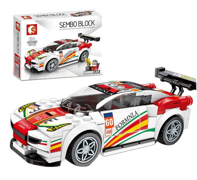 toko mainan online SEMBO CAR 171PCS - 607008