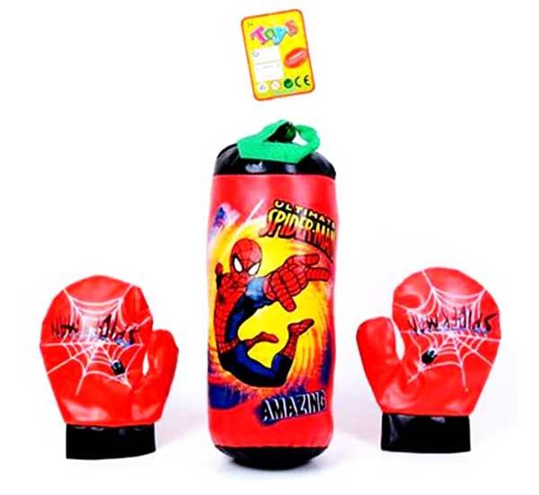 toko mainan online BOXING SPIDERMAN - RT968-1