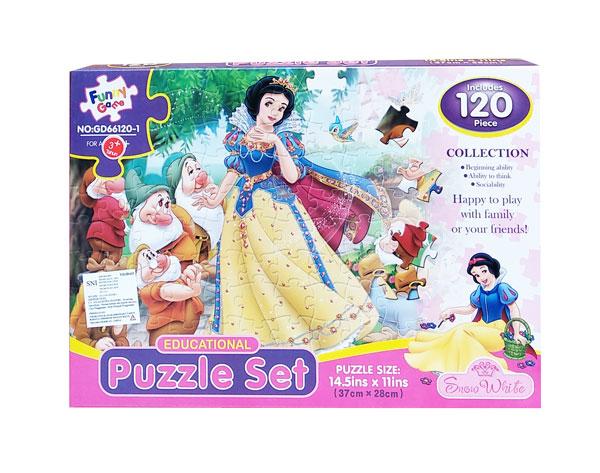 toko mainan online PUZZLE SET RRINCESS - GD66120-1