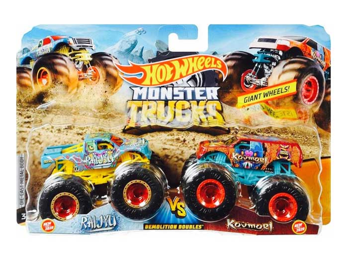toko mainan online HOT WHEELS MONSTER TRUCK ISI 2 - FYJ64