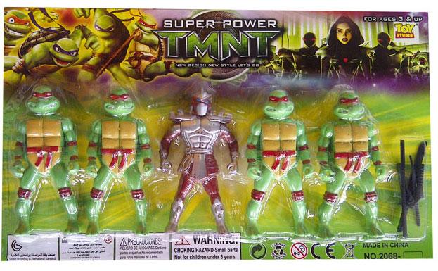 toko mainan online SUPER POWER TMNT NINJA 5PC