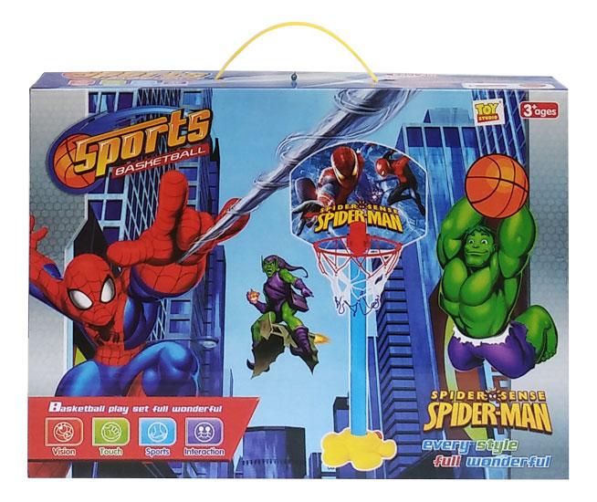 toko mainan online SPORTS BASKETBALL SPIDERMAN - 5015