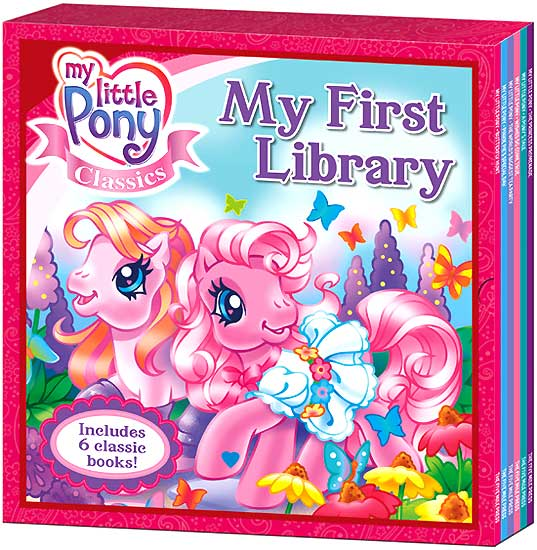 toko mainan online My First Library My Little Pony Classics Includes 6 Classic Books