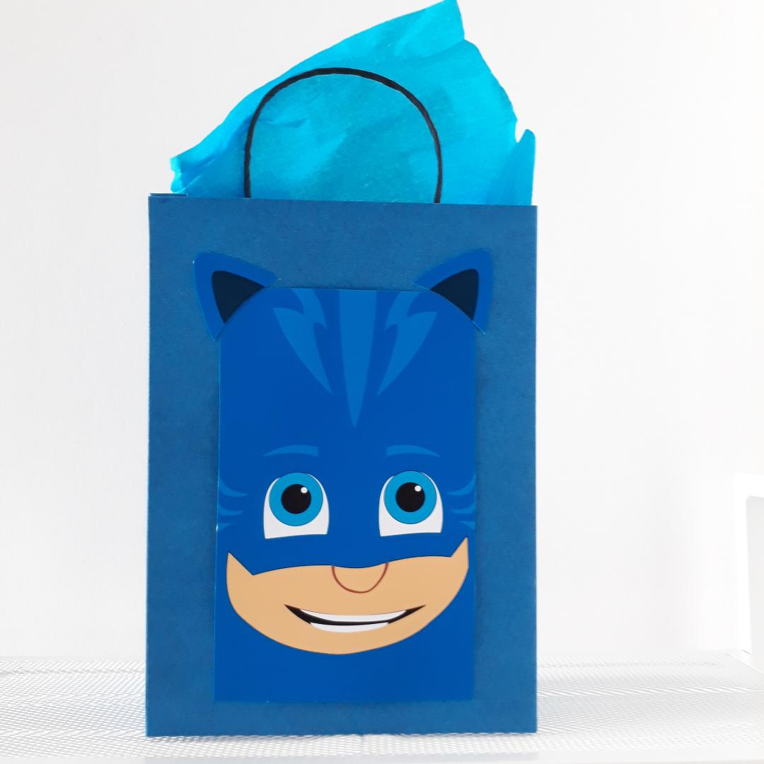 toko mainan online Add on - PAPERBAG GOODY BAG PJ MASK