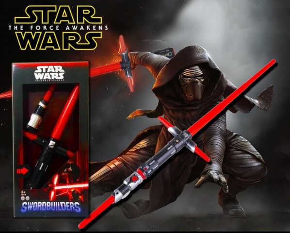 toko mainan online SWORDBUILDERS KYLO REN STAR WARS