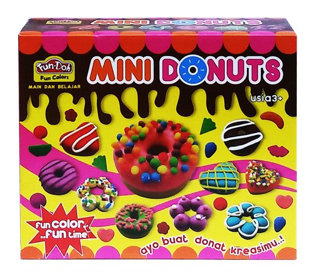 toko mainan online Mini Donut Doh - 28056
