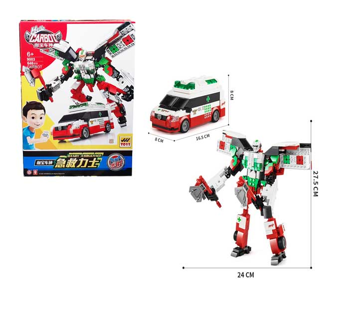 toko mainan online BLOCK CARBOT 646PCS - 9003