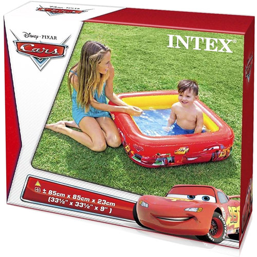 toko mainan online INTEX CARS BOX POOL - 57101