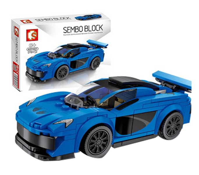 toko mainan online SEMBO CAR 178PCS - 607007