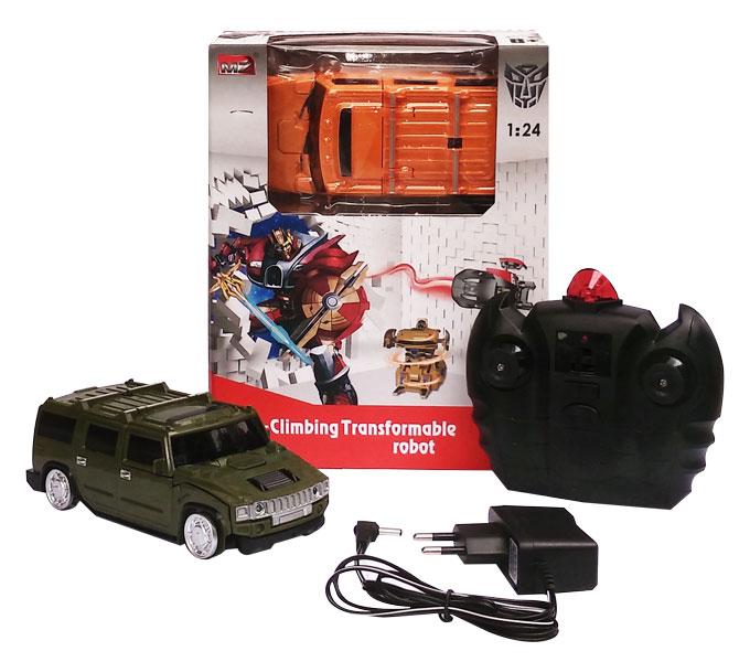 toko mainan online WALL CLIMBING TRANSFORMABLE ROBOT - 2829P