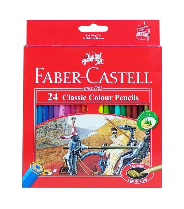 toko mainan online PENSIL WARNA FABER CASTELL 24 - 115854