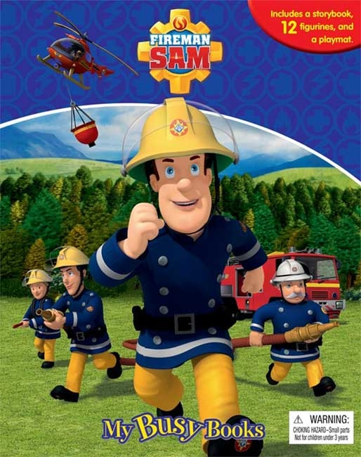 toko mainan online MU BUSY BOOK FIREMAN SAM