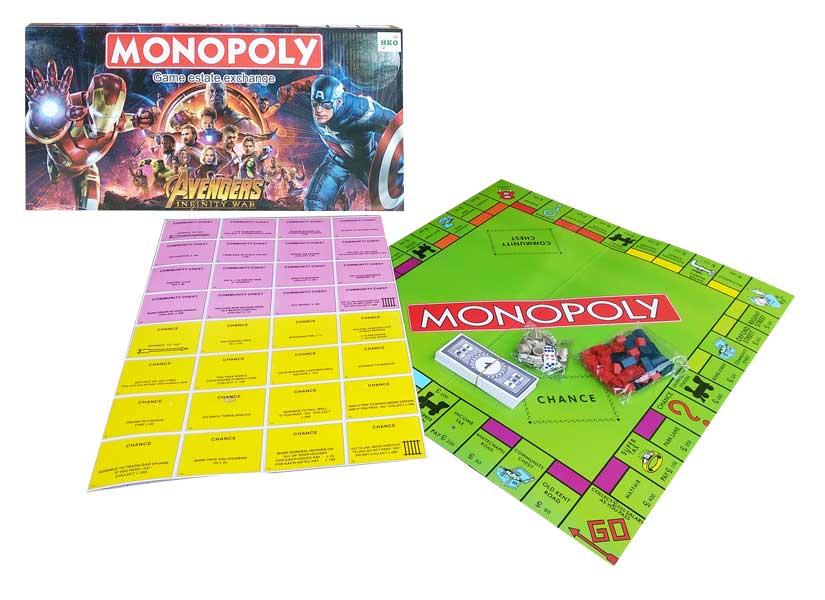 toko mainan online MONOPOLY AVENGERS - 2020-15