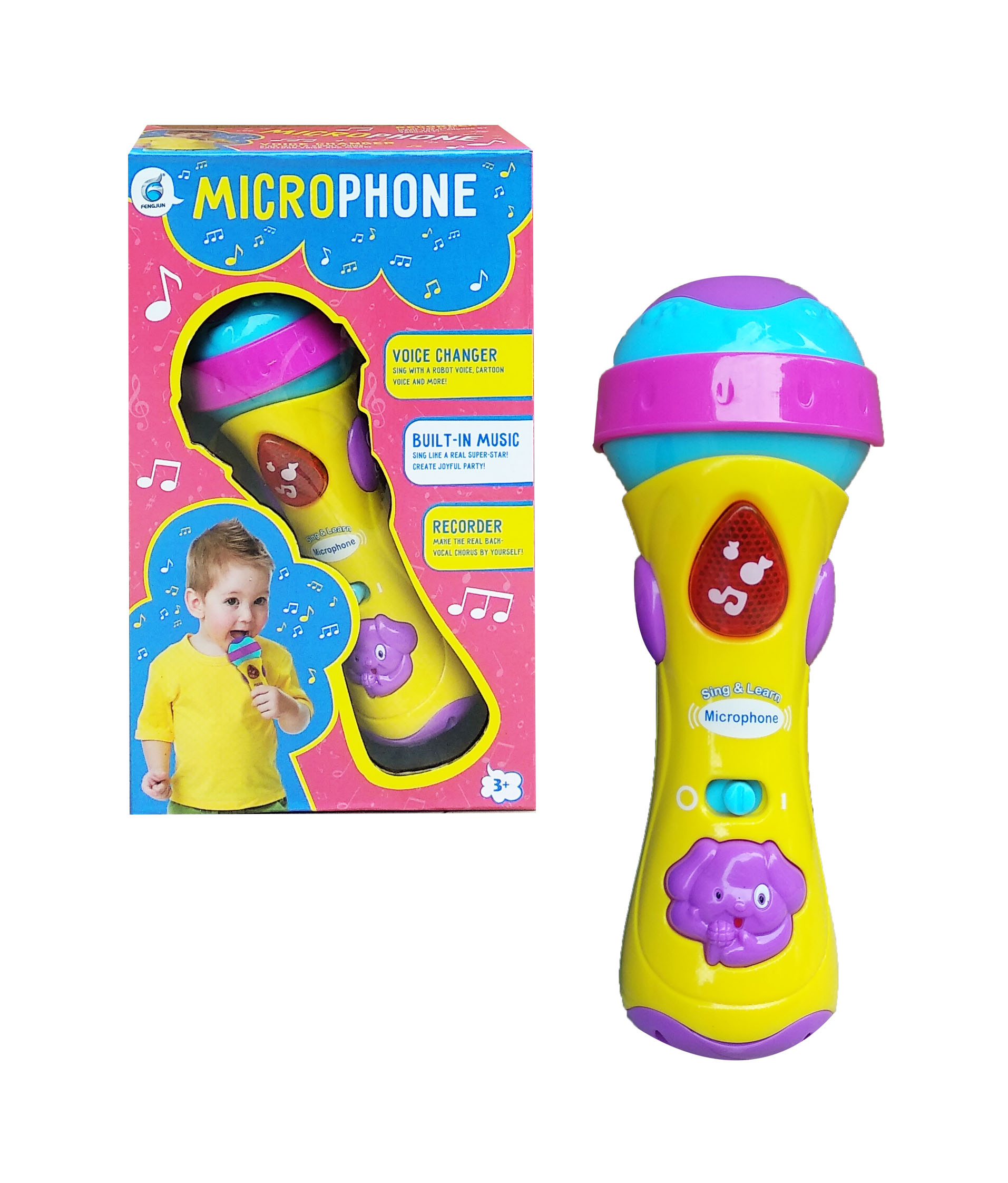toko mainan online SING & LEARN MICROPHONE - 5258D