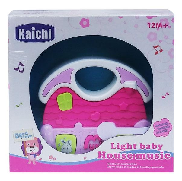 toko mainan online LIGHT BABY HOUSE MUSIC 999-105G - 02461
