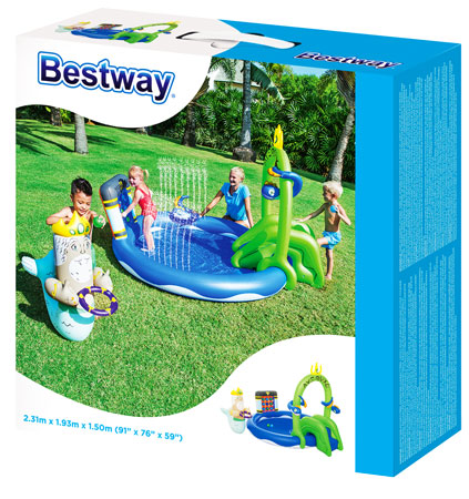 toko mainan online BESTWAY UNDER SEA PLAY POOL - 53057