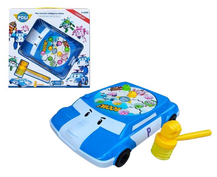 toko mainan online ROBOCAR POLI PLAY HAMSTER - 525-2A