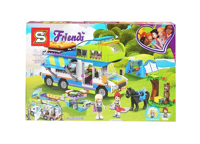 toko mainan online BLOCK FRIENDS 536PCS - 1034