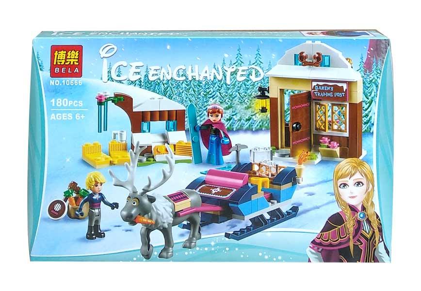 toko mainan online BELA ICE ENCHANTED ANNA 180PCS - 10666