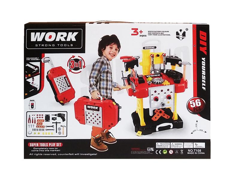 toko mainan online WORK STRONG TOOLS - T108