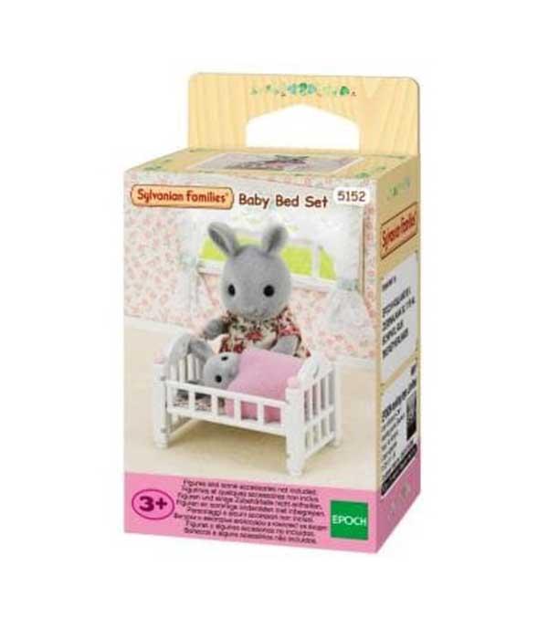 toko mainan online SYLVANIAN BABY BED SET - 5152