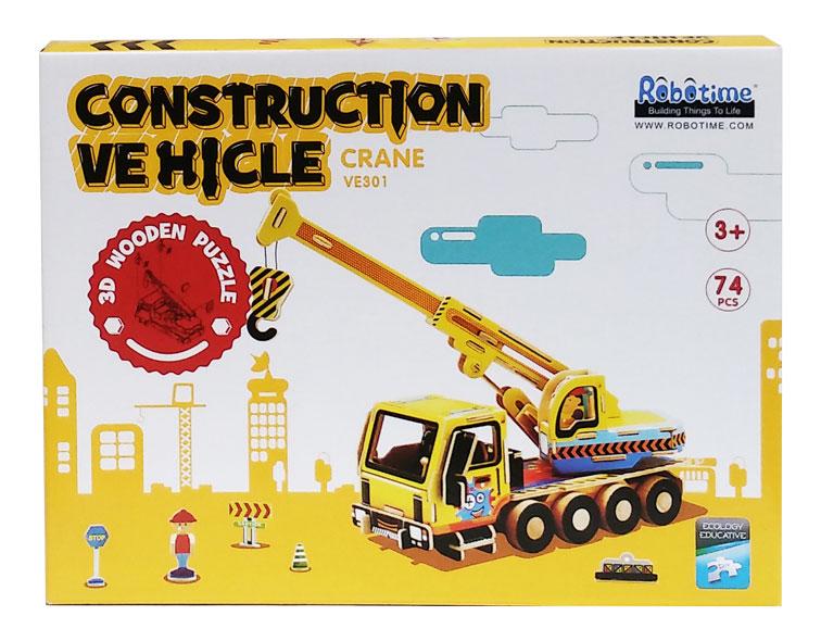 toko mainan online 3D PUZZLE CRANE - VE301