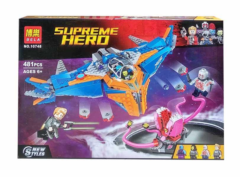 toko mainan online BELA SUPREME HERO 481PCS - 10748