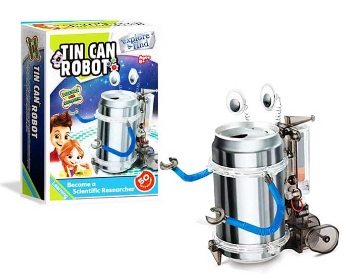 toko mainan online TIN CAN ROBOT - 1009