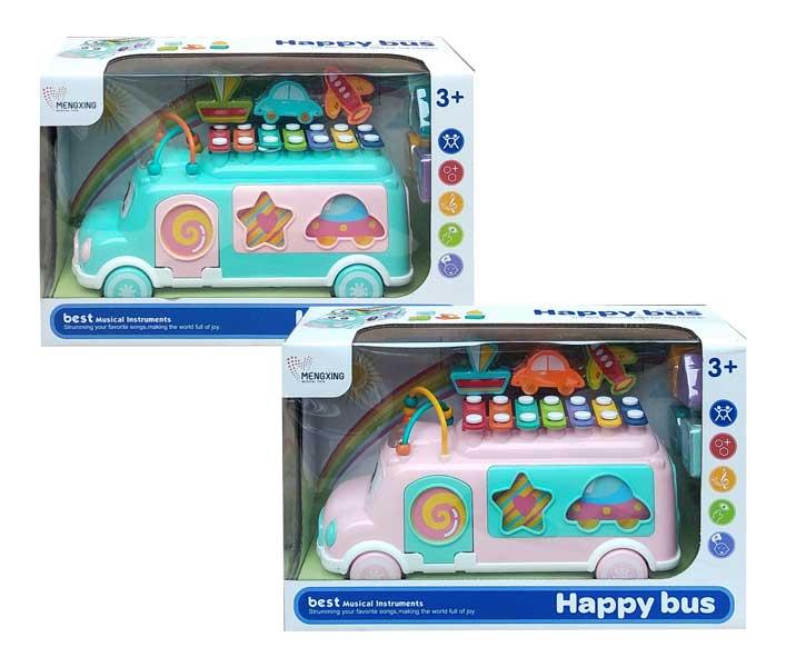 toko mainan online HAPPY BUS XYLOPHONE - MX010