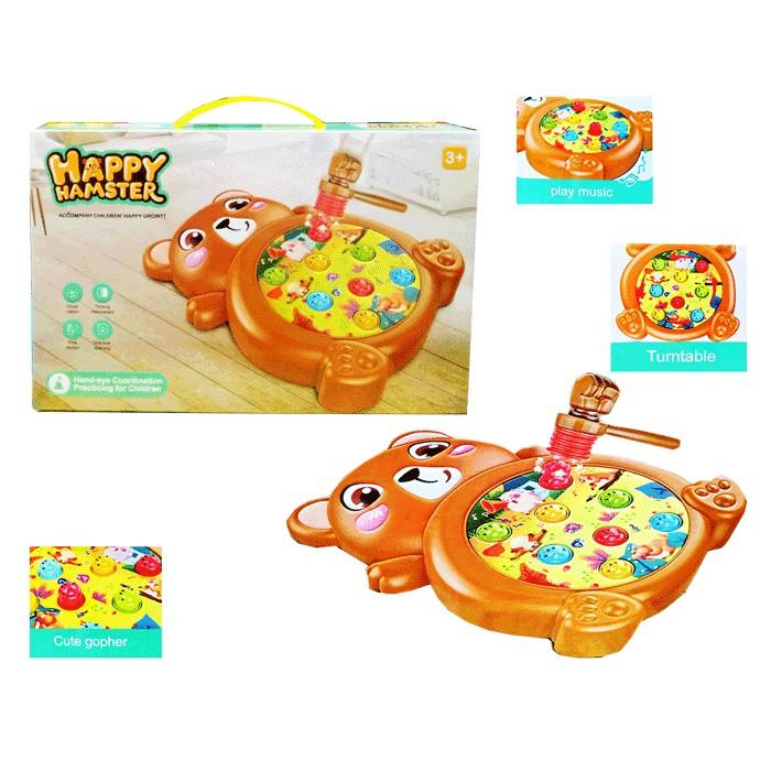 toko mainan online HAPPY HAMSTER COKLAT - HY660