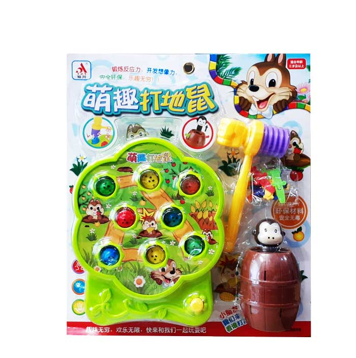 toko mainan online WHACK A MOLE MONKEY - 8516